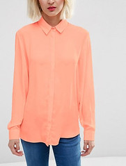 ASOS peach blouse