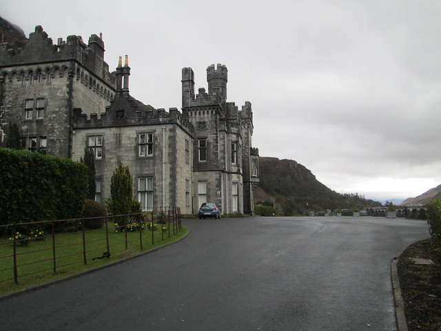 Kylemore Abbey Side View