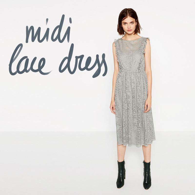 editors' choice - midi lace dress