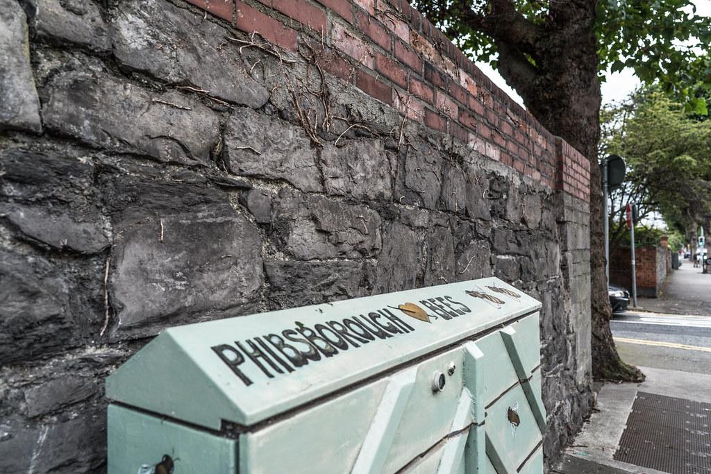 STREET ART - PAINT A UTILITY CABINET IN DUBLIN [PHIBSBORO]-121612