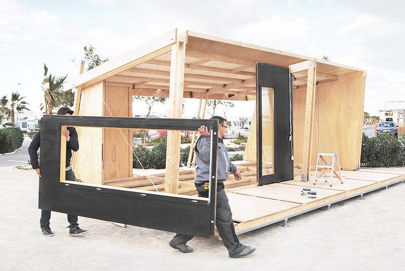 Строительство компактного модульного дома. Проект viVood