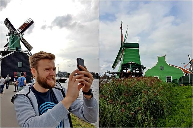 Zaanse Schans via TinyBlackBird.com