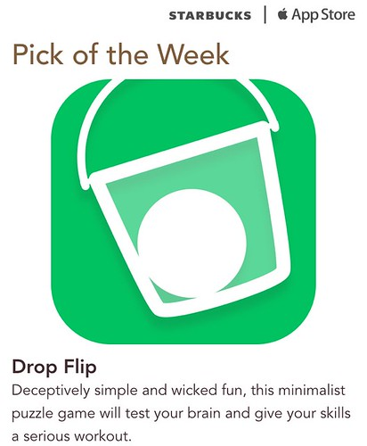 Starbucks iTunes Pick of the Week - Drop Flip
