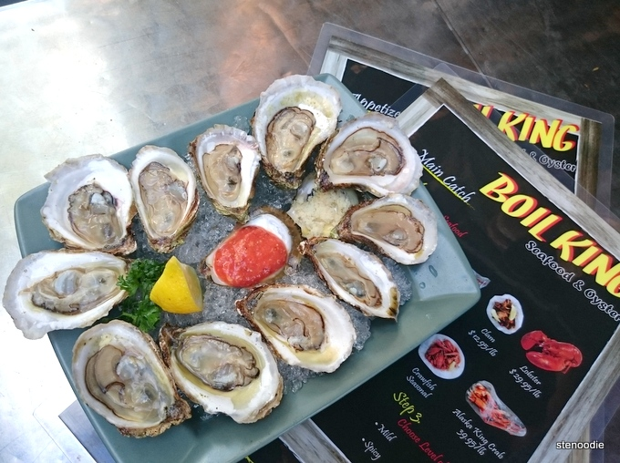 oysters at Boil King