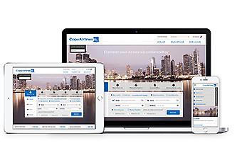 Copa Airlines web y plataformas móviles (Copa Airlines)