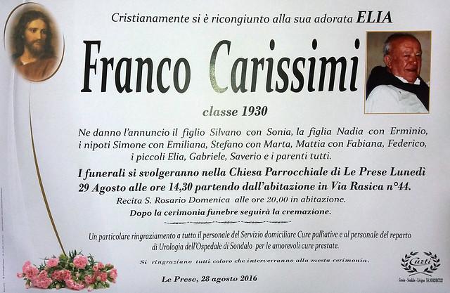 Carissimi Franco