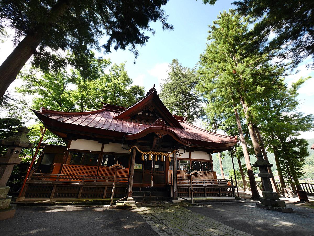 河口湖 八王子神社