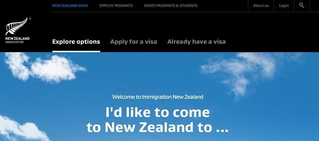 new zealand visa application work