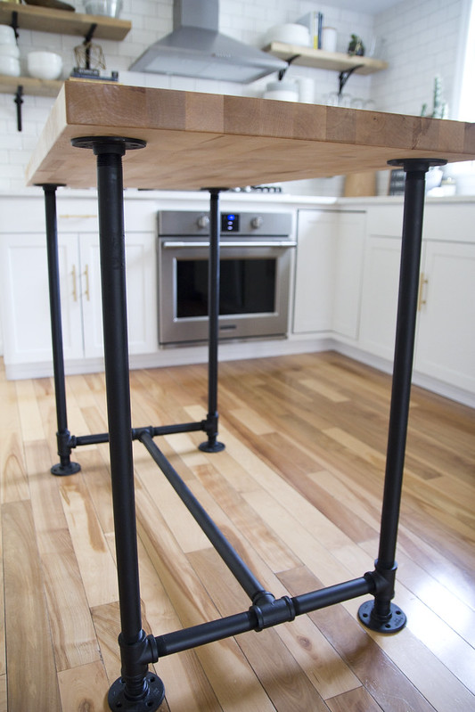 Charmant I Wanted A Slightly Taller Island For Ease Of Food Prep But You Will Have  To Plan Accordingly For Stools. A Counter Height Stool Is ...