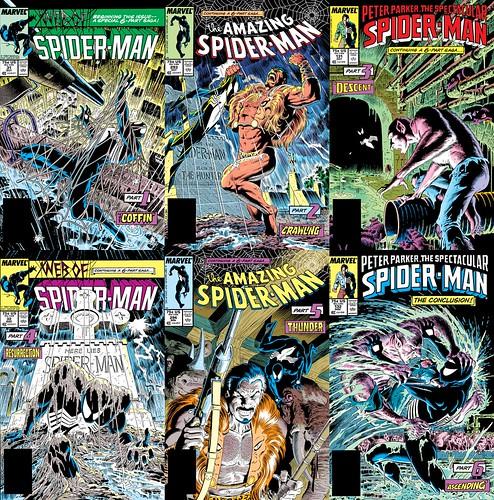 cover Spider-man Kraven's Last Hunt regular