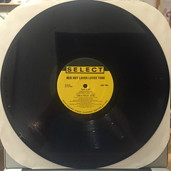 RED HOT LOVER LOVER TONE:GIVE IT UP(RECORD SIDE-B)