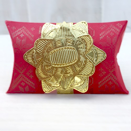 Layered Gift Bow and Pillow Box Dies by Papertrey Ink