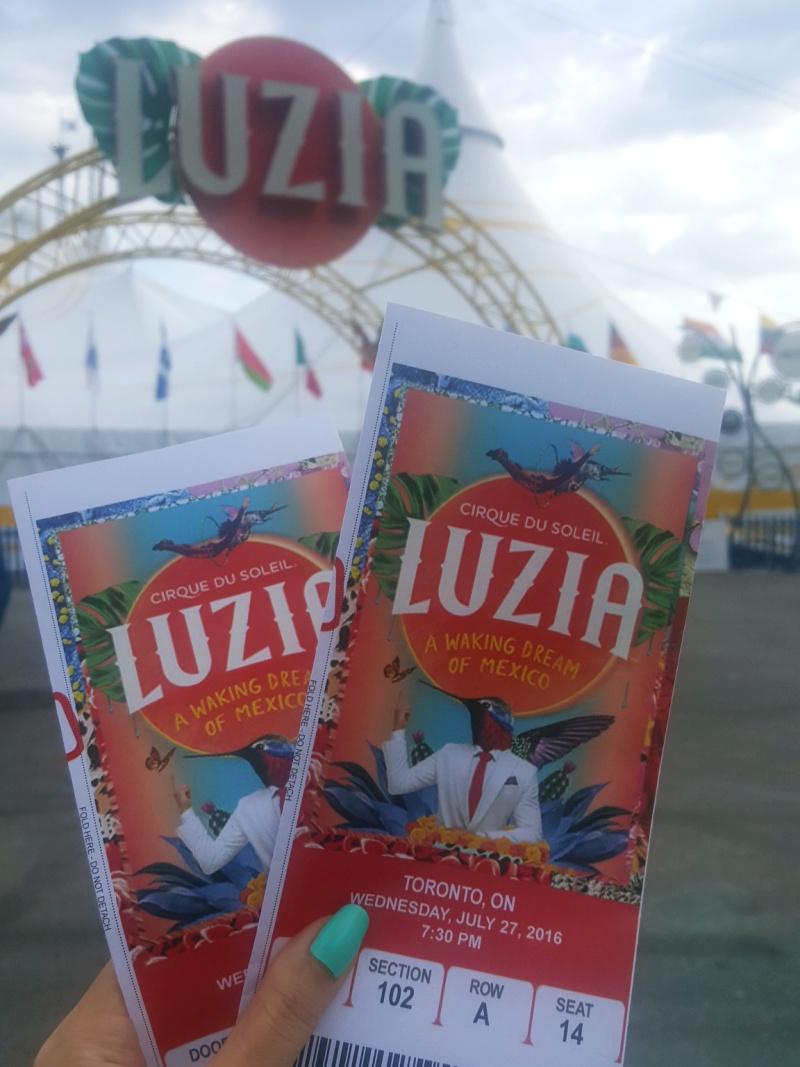 Cirque du Soleil Luzia Toronto