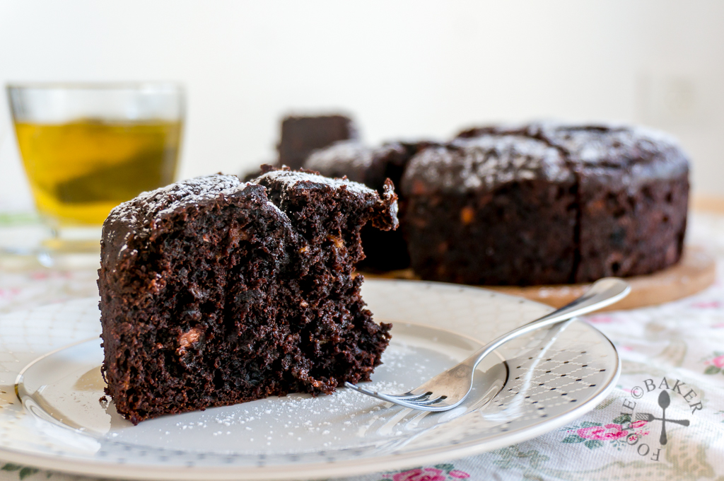 Double Chocolate Banana Cake / Bread