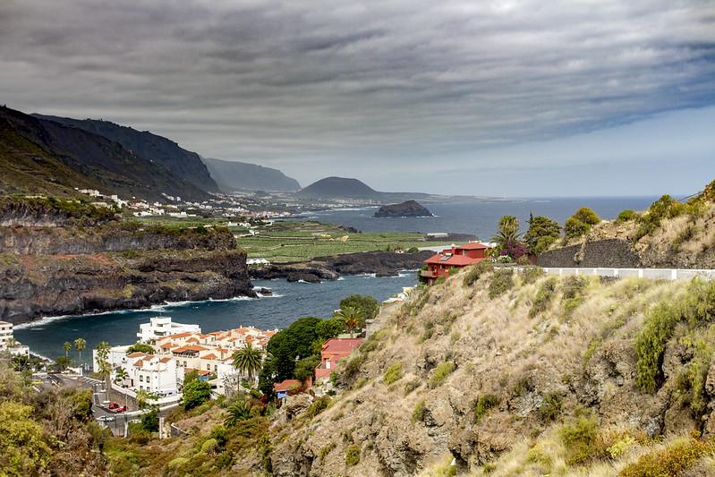 Beutiful Tenerife Landscape - Playa de San Marcos
