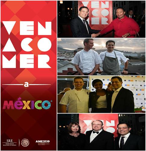 """Promoción en Sudáfrica de """"Ven a Comer"""""""