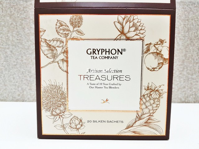 Artisan Selection Treasures Tea Box