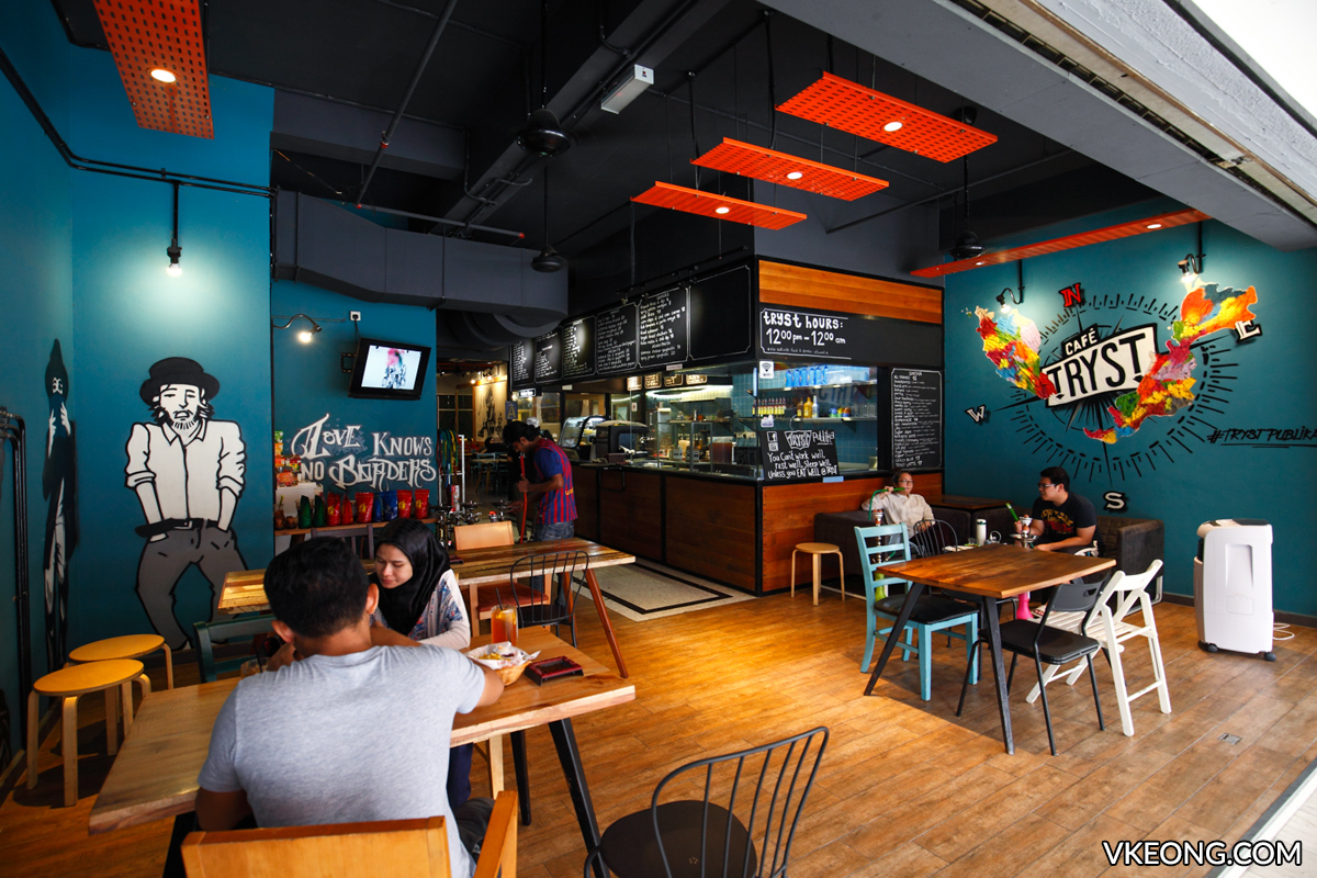 Tryst Cafe Solaris Dutamas Publika