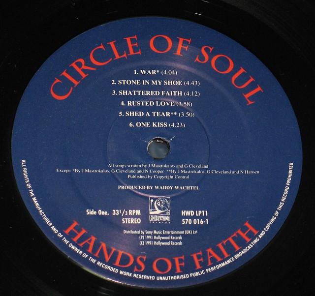 "CIRCLE OF SOUL HANDS OF FAITH 12"" vinyl LP"