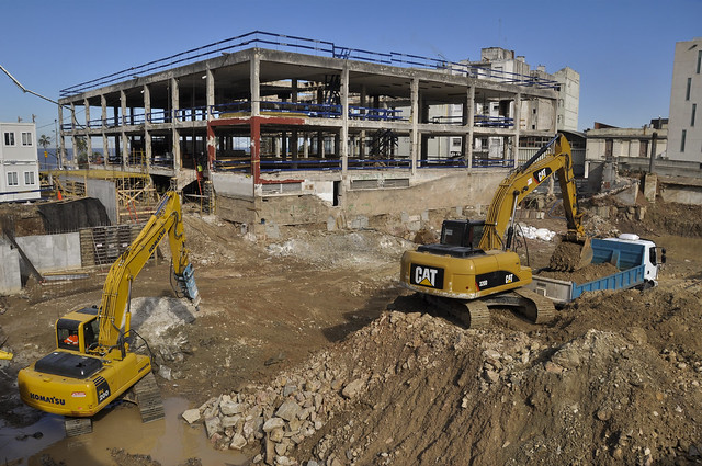 Construcción nueva Sede CAF Montevideo