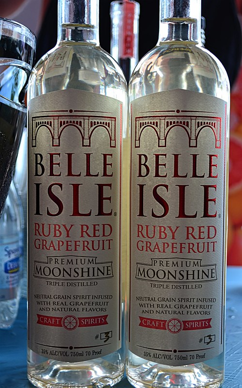 Belle Isle Ruby Red Grapefruit Moonshine