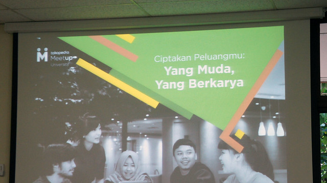 Tokopedia MeetUp University - IKIS (15-10-2016)
