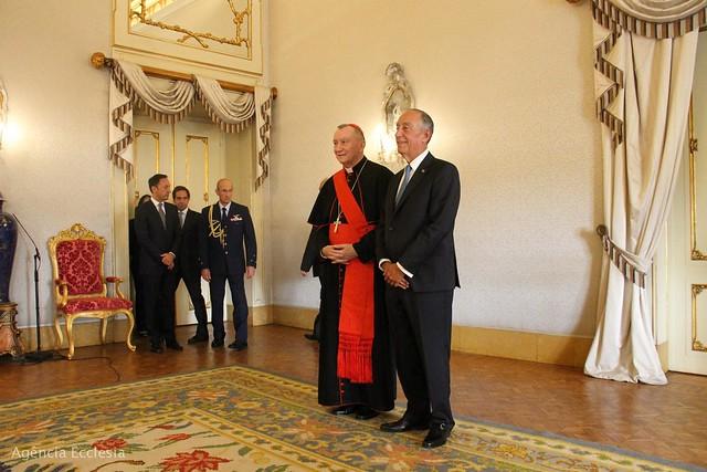 Cardeal Parolin em Portugal