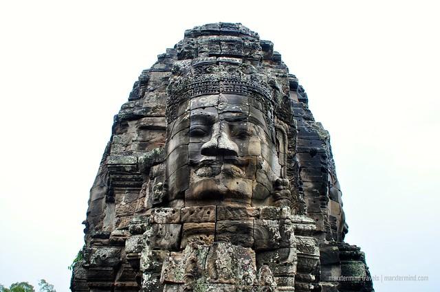 Smiling Buddha Face Bayon