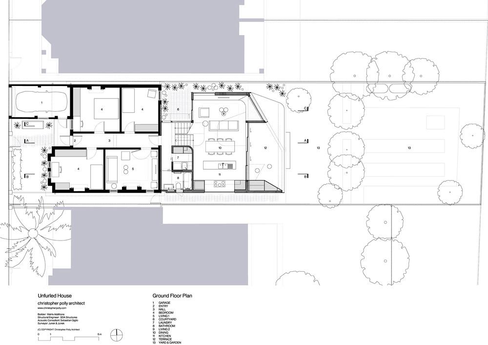 Проект современного семейного дома от Кристофера Полли