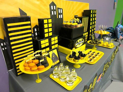 Ideas para Decorar Fiesta de Batman