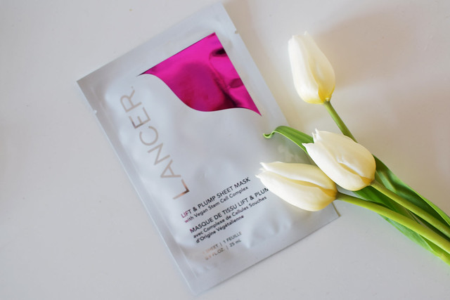 Lancer Lift & Plump Sheet Mask Review
