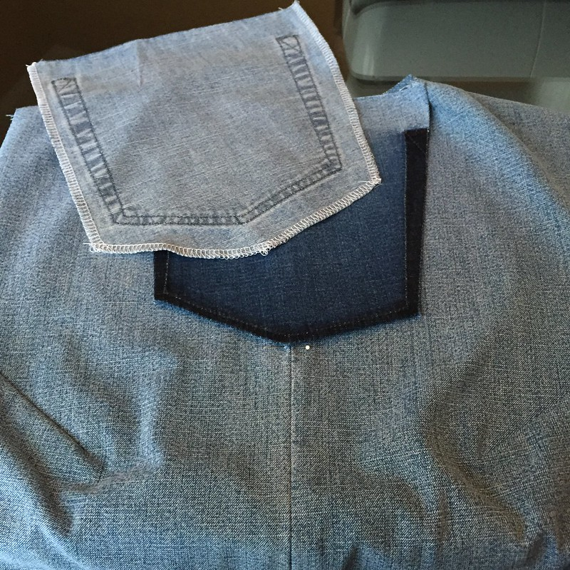 Denim Tunic - In Progress