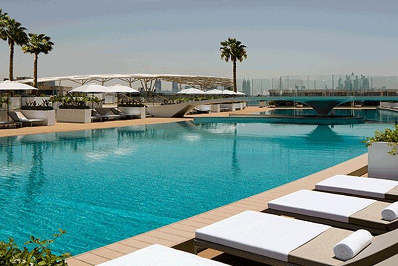 Luxury Deck at the Burj Al Arab
