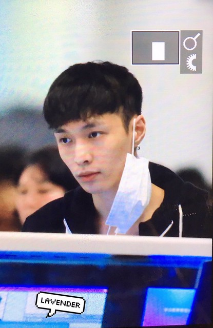 160831 Lay at Changsa Airport to Bejing