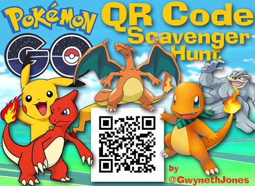 Pokemon Go Scavenger Hunt