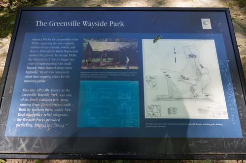 Greenville Wayside park sign
