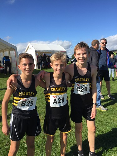 Goodwood Cross Country Relays (including Sussex Champs), 1st October 2016