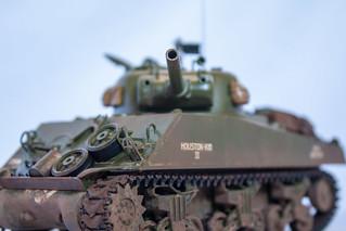 1/35 Scale - M4A3 Sherman Tank
