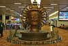 Delhi - Airport Surya sculpture