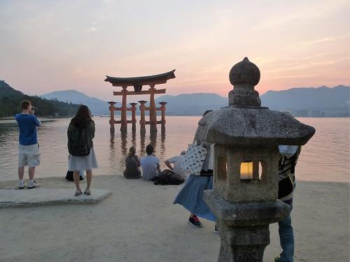 jp16-Myajima-Torii-coucher du soleil  (11)