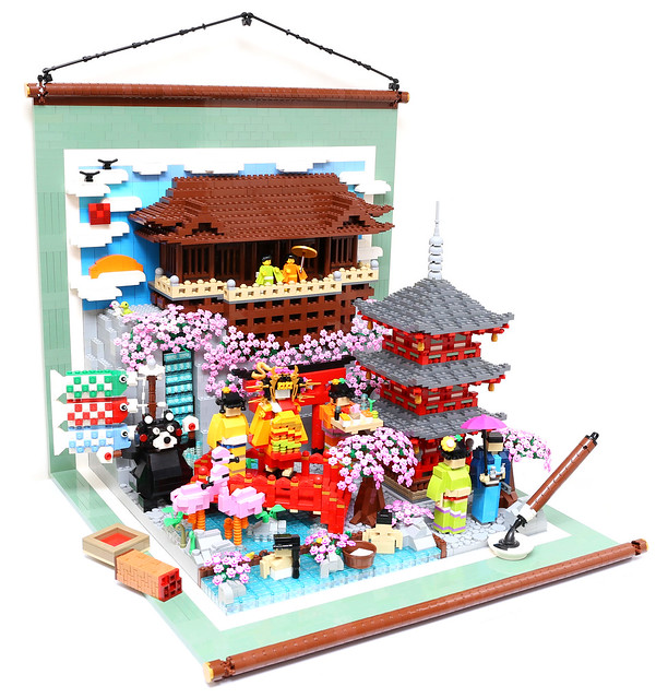 LEGO Culture of Japan - Kyoto Kiyomizu