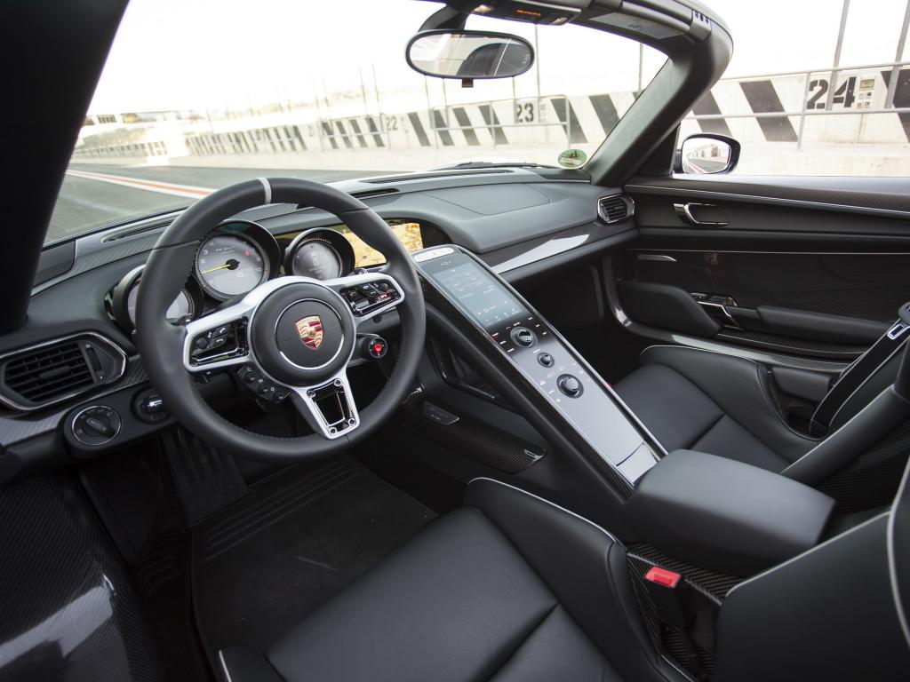Porsche 918 Spyder для рынка США