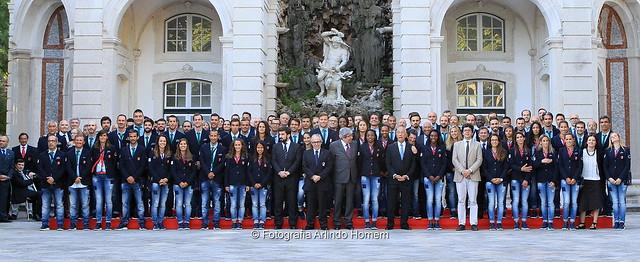 Delegação Olímpica recebida em Belém antes dos Jogos Olímpicos Rio 2016