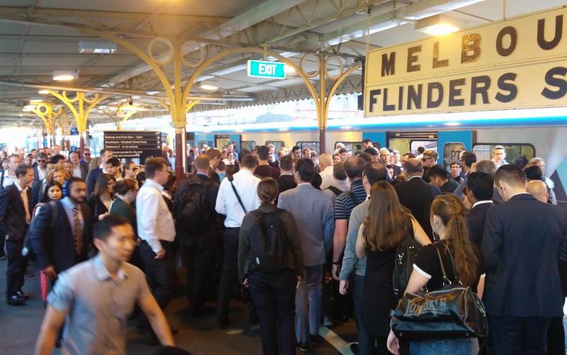 Flinders Street Station, platform 10