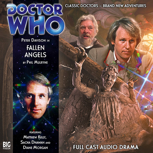 Fallen Angels Alternate Style Cd Cover For Big Finish