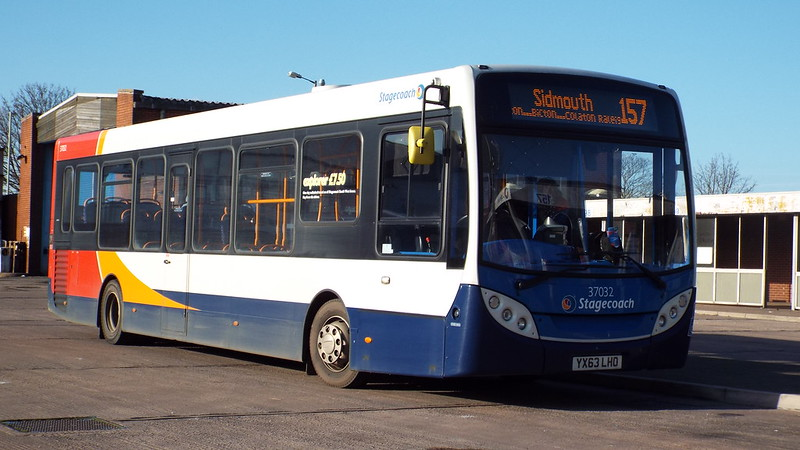 Stagecoach - YX63LHO - Exmouth - 3 December 2014