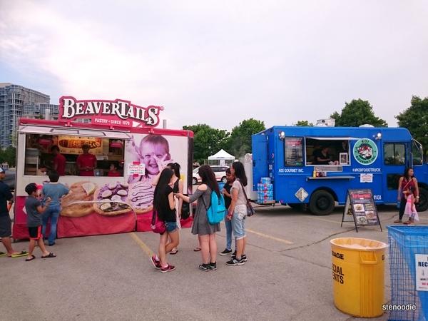 Markham Rotary Ribfest 2016 food trucks