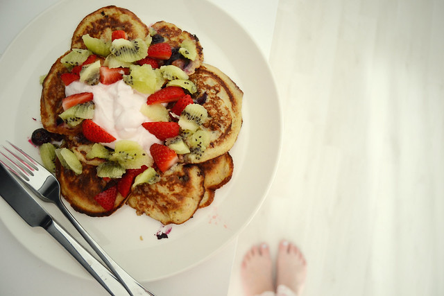 Lomapäivän aamupala