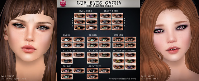Lua Eyes Gacha (soon @ The Epiphany)