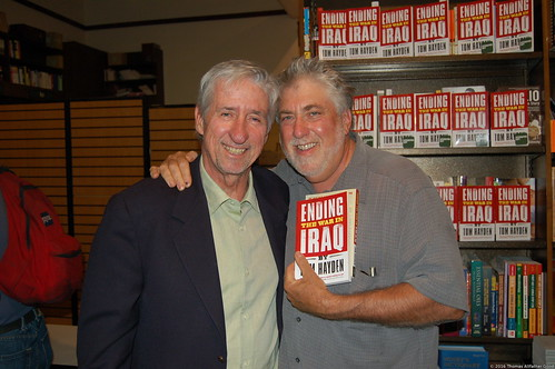 Tom Hayden (with Mark Rudd)